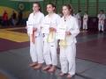 Angelika Mistarz zdobyła 3 miejsce (pierwsza od prawej)