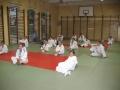 Pierwsze treningi na nowej sali