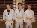 Młodzi zawodnicy. Od lewej: Witold Kania, Sławomir Flaga, Michał Kurzyk