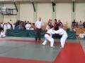 Ula Bargieł podczas wygranej walki (czerwony pasek)